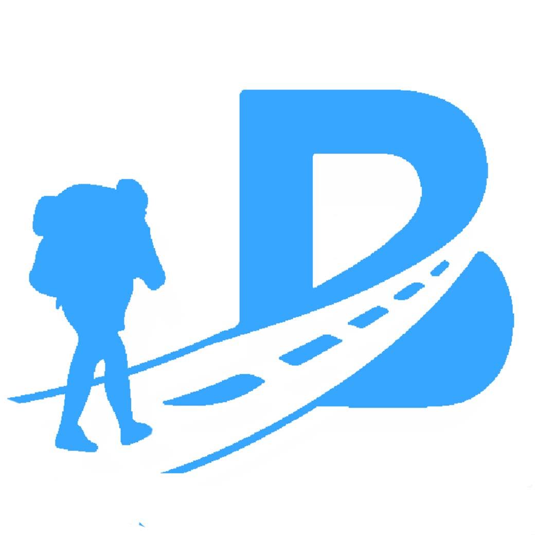 B LOGO BLUE