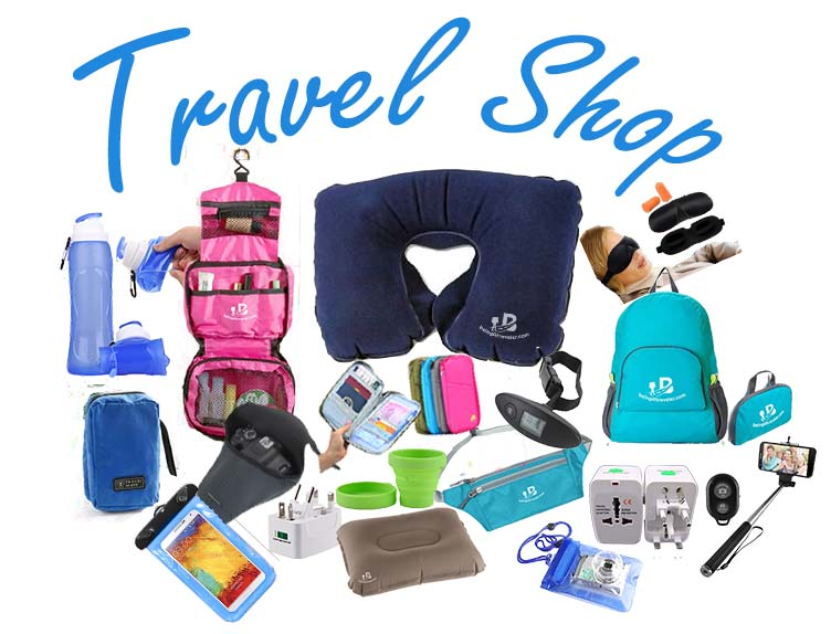 Being a traveler Travel shop