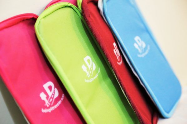 Travel products being a traveler