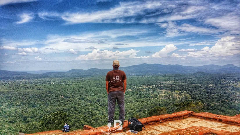 Sigiriya Lion Rock - At the Top - beingatraveler.com