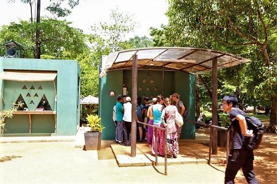 Sigiriya Lion Rock - Ticket Booth - beingatraveler