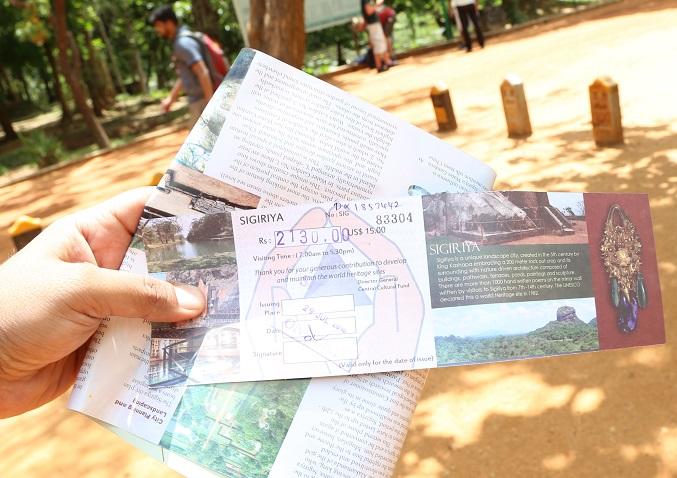 Sigiriya Lion Rock Sri Lanka - Half Ticket for SAARC
