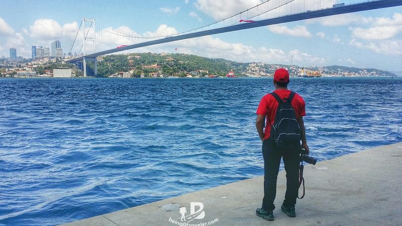 istanbul bosphorus bridge beingatraveler.com bilal azam
